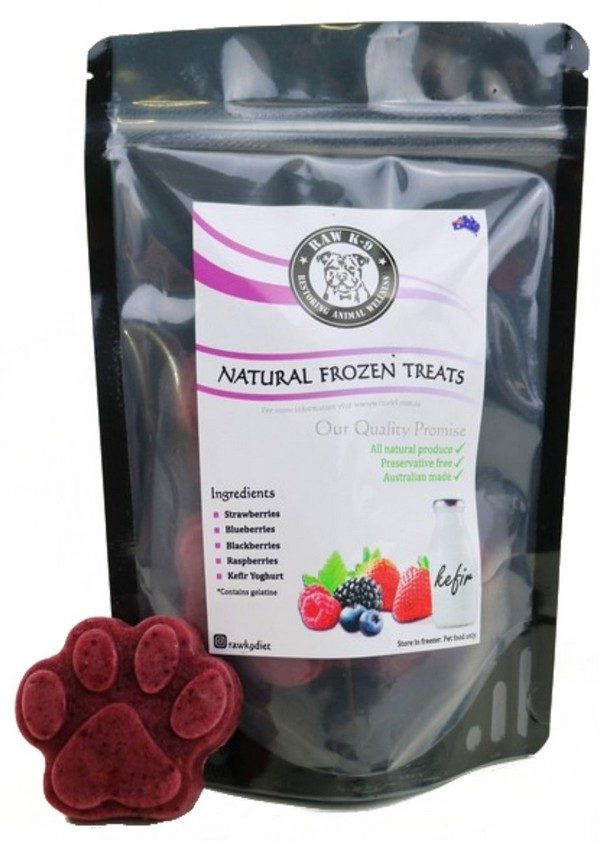 Berry Natural Frozen Treat